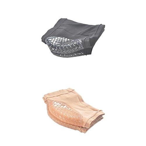 MagiDeal 2 Paire Chaussettes Gel de Récupération Chaussettes Protecteur Talon Manucure