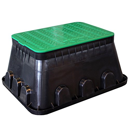 Ventilbox XL Bodeneinbaudose groß, Verteilerdose Gartenelektrik Box ebenerdig Kerry kez1313