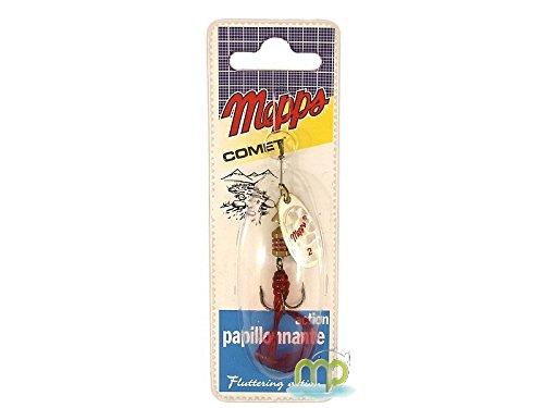 Mepps Cuiller Comet Argent-Twist Rouge