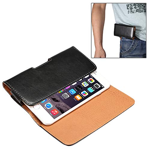 BANAZ HNZZ Caja del teléfono Horizontal Textura de la Piel de Cordero Bolsa de Cintura con la Parte Posterior de la tablilla for el iPhone 6 Plus/Plus 6S / Galaxy Note 8/4 Galaxy Note/Nota 5 / S6