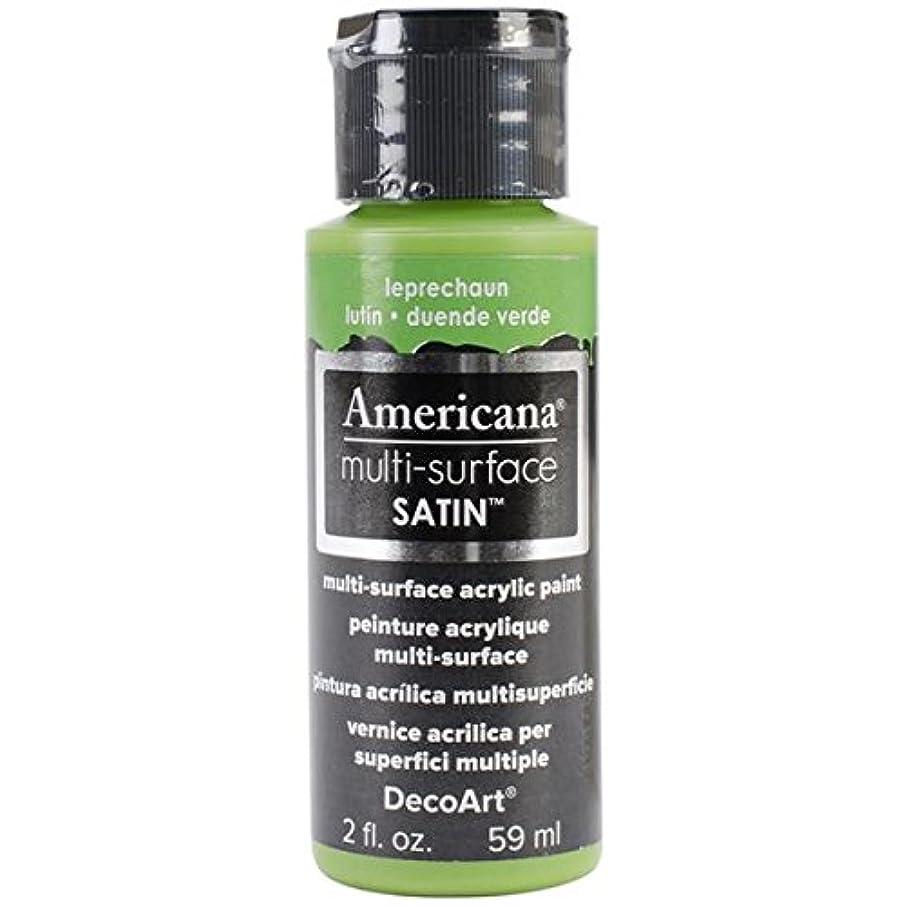 DecoArt Americana Multi-Surface Satin Acrylic Paint, 2-Ounce, Leprechaun
