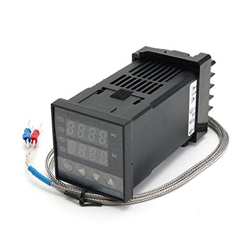 MASUNN Contrôleur De Température Digital Rex-C. C avec Thermocouple De Type K