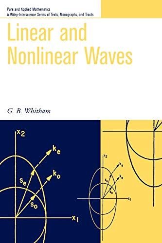 Compare Textbook Prices for Linear and Nonlinear Waves 1 Edition ISBN 9780471359425 by Whitham, G. B.