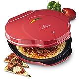MisterChef Pizza Maker 1000W, 12-inch / 30cm, 2,3 Metal, Free Recipe Book Enclosed, 2 Year Warranty