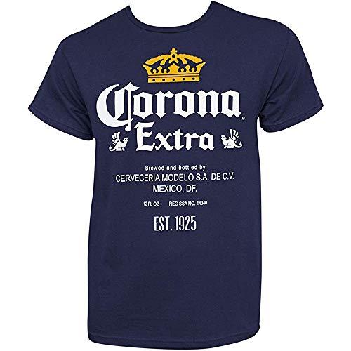 NR Extra Fles Label Navy T-Shirt