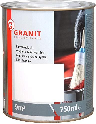 Kunstharzlack weiß hochglänzend, lackfarbe für Metall. Metalllack SEKN 9018, RAL 9018 Lackfarbe Papyrusweiß in einer 0,75 L Dose