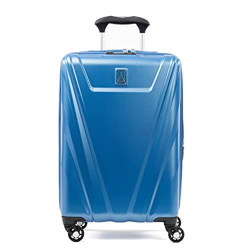 Travelpro Maxlite 5-Hardside Spinner Wheel Luggage, Azure Blue, Carry-On 21-Inch