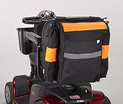 Mobility Scooter Crutch/Walking Stick Bag Black
