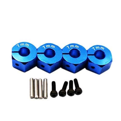 GzxLaY Alloy Hexagon Wheel Set Rc Model Car Set Screws for 1:10 Hpi Venture Fj Cruiser Accessories Spare Parts Accessories ( Color : Blue ) -  henanouyameishiyeyouxiangongsi