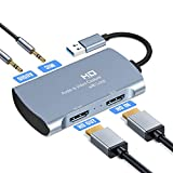 Tobo Audio Video Capture Card 4K 1080P USB 2.0 HDMI Game Capture Card Recorder Device 1080P Video...