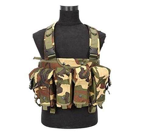 Redland Art New Camouflage Tactical Vest Airsoft Ammo Chest Rig