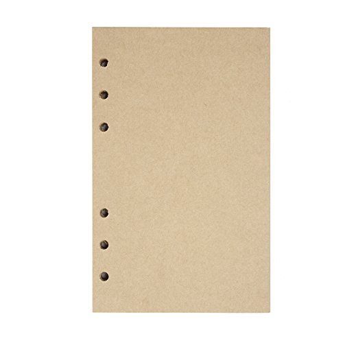 Refillable Craft Paper,Perfect for MALEDEN Premium PU Leather Classic Embossed Travel Journal Diary