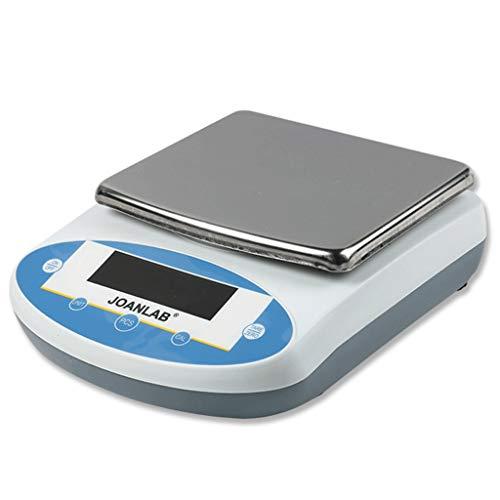 LYC Pakketweegschaal, 0,1 g, analytische weegschaal met hoge precisie 2 capaciteit 10 kg, 20 kg, geschikt voor dringende levering, laboratoria, bakken d