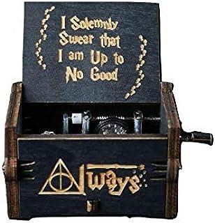 SKEIDO Harry Potter Black Edition Classic Mini Music Box