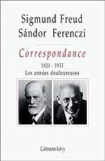 Correspondance. Tome III de Docteur Sigmund Freud