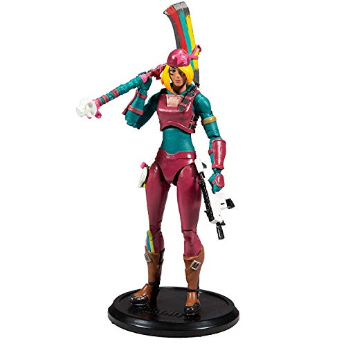 McFarlane Toys Fortnite Skully Premium Action Figure, Multicolor