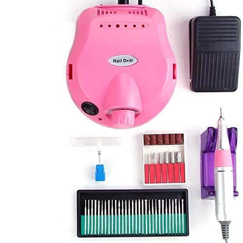 New Sander Electric Machine Apparatus for Manicure Pedicure Kit Milling Cutter Ceramic Nail Drill Art Polisher Tool Bits Sanding Bands