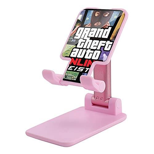 G-TAS Soporte para teléfono celular Ángulo Altura Ajustable Soporte para teléfono celular para escritorio rosa-G-TAS1