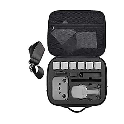 Aliturtle Carrying Case Compatible with DJI Mavic Air 2 Fly More Combo 2020 Released, Fits for Mavic Air 2 Full Accessories, Propellers, Propeller Guard, Up to 6 x Battery, Remote Controller