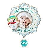 Hallmark Keepsake Ornament 2020 Year-Dated, My Very First Christmas Baby Photo Frame
