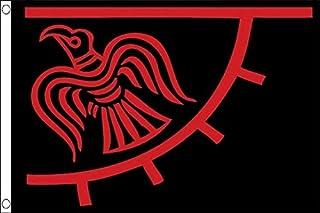 AZ FLAG Bandera del DIO ODÍN 150x90cm - Bandera del DIO WOTAN - MITOLOGÍA NÓRDICA 90 x 150 cm