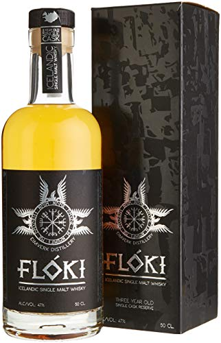 Flóki Icelandic Single Malt Whisky (1 x 0.5 l)
