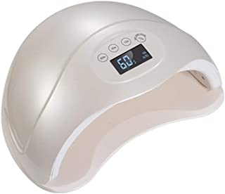 USLLYY Nail Dryers 48W UV Nail Dryer LED Nail Lamp for Gel Nails with 4 Memory Timer, LCD Display, Sensor and Double-Speed Curing