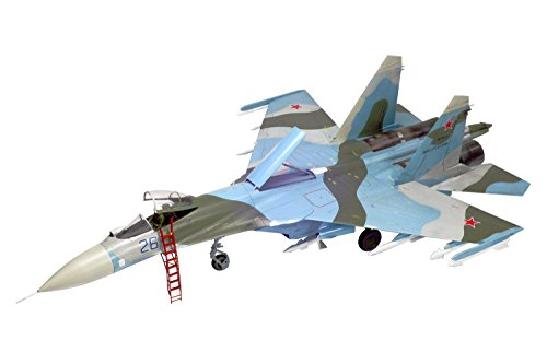 プラッツ 1/72 航空模型特選シリーズ ロシア空軍 Su-27SM フランカーB 黒海フロント 戦闘機 プラモデル AE-7
