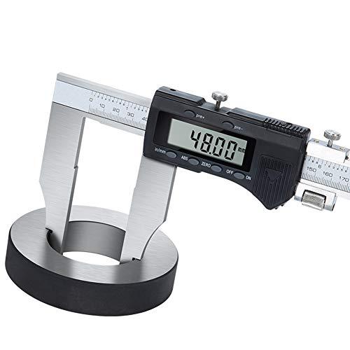 WANGZRY Digitale Messschieber 0-1000mm Edelstahl Metallgehäuse Messschieber Messschieber Noniuslehren-mikrometer Messschieber,0-500mm