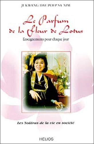 Le parfum de la fleur de lotus