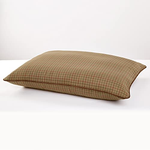 Orvis Tattersall Pillow Dog Bed/Medium Dogs Up to 40-60 Lbs.
