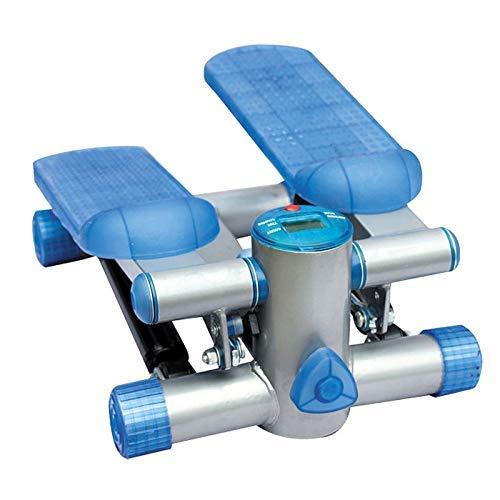 BJH Up-Down Stepper Stepper - Fitness Unisex, Azul, máquina de Entrenamiento de Ejercicios de Fitness de Lujo Stepper Gym con LCD