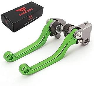 FXCNC Racing CNC Aluminum Dirt Bike Pivot Brake Clutch Lever Set for Kawasaki KX65 2000-2020,  KX85 2001-2020,  KX125 2000-2005,  KX250 2000-2004,  KX250F 2004,  KX100 2001-2020