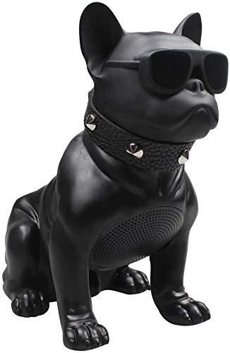 LHY BATHLEADER Bulldog Speaker,Bulldog Portable Speaker,French Bulldog Speaker,Bluetooth Control Dog Speaker Gift to Friends Boy Girl Child Kid Teacher Birthday Christmas