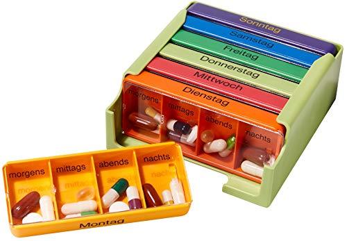 Medi-7 Medikamentendosierer für 7 Tage colore,1St
