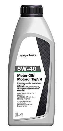 AmazonBasics – Motoröl 5W-40 Typ VR, 1 l