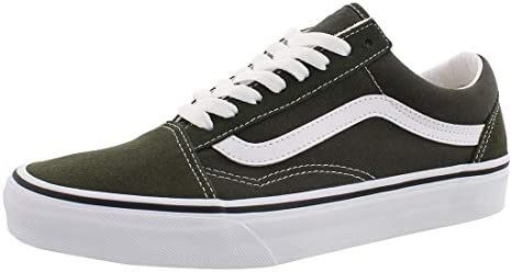 Vans Old Skool Skate Shoes Forest Green True White Men s 7 5 product image