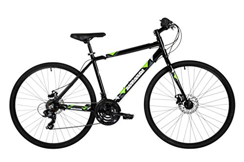Barracuda Hydrus Mens Hybrid 21 Speed Bicycle (19' Frame)