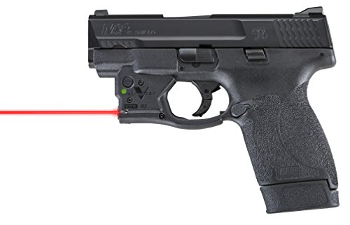 VIRIDIAN WEAPON TECHNOLOGIES, Reactor 5 Gen II Red Laser, Smith & SWesson M&P Shield .45 with ECR Instant On Holster, Black