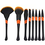 Utensilios y accesorios Sets de brochas Maquillaje Brush_Professional 8 Baseball Girl Maquillaje Brush 8 Maquillaje Brush Fan Shape Kit de belleza