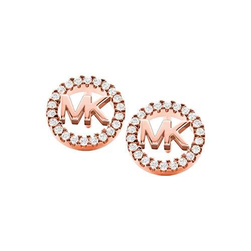 Michael Kors Damen-Ohrstecker 925er Silber One Size Rosé 32010365