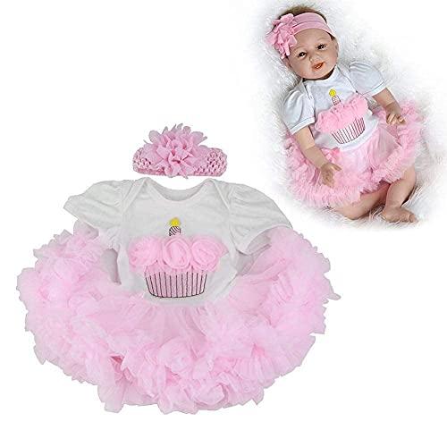 DERUKK-TY Ropa para muñecas Reborn Ropa para muñecas para bebés Reborn Vestido para muñecas para bebés recién Nacidos Traje para muñecas para bebés Ropa de 20'-23'