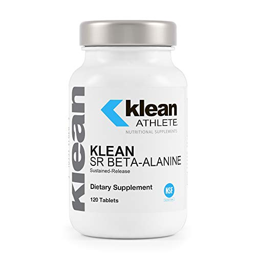 Klean Athlete - Klean SR Beta-Alanine (Sustained Release) - Delays Fatigue, Supports Muscle Endurance - 120 Tablets