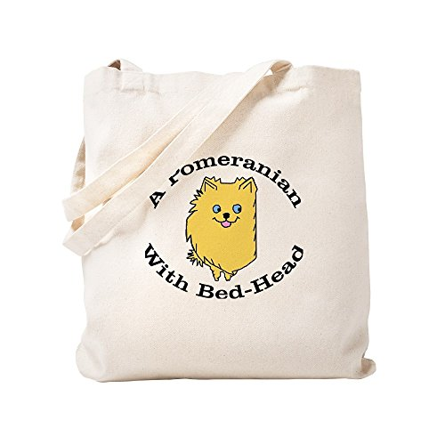 CafePress - BedHead Pom – Natürliche Leinen-Einkaufstasche, Stoff-Einkaufstasche.