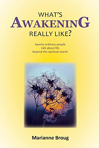 What's Awakening Really Like?: Twenty ordinary people talk about life beyond the spiritual search