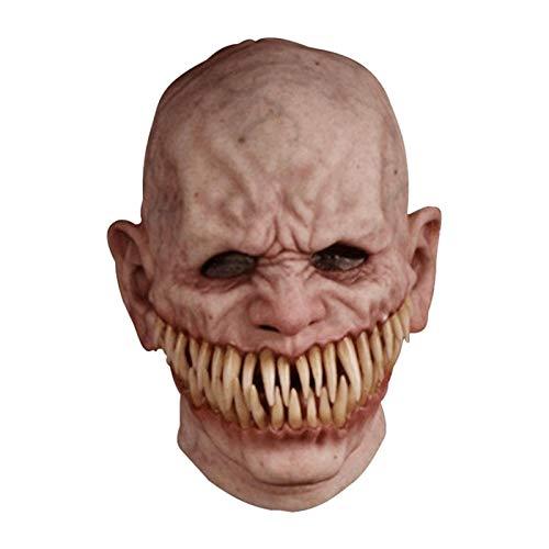 Shaying Halloween Latex Masken, Scary Toothy Masken, Halloween Scary Kopfbedeckungen, Wasago Devil Clown Maske, Halloween Party Kostüme