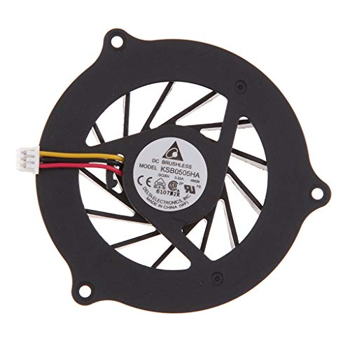 B Blesiya Ventilador para CPU DV2000, V3000, V3500, V3600, V3700