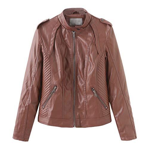 petit un compact Veste en cuir pour femme Sonozie Perfect Short Biker en cuir PU Veste en cuir souple pour femme …
