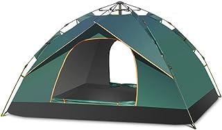 Vikbara tält för strand automatiskt pop-up tält 1-2 personer vattentätt vindtät och solskydd markis för utomhuscamping ell...