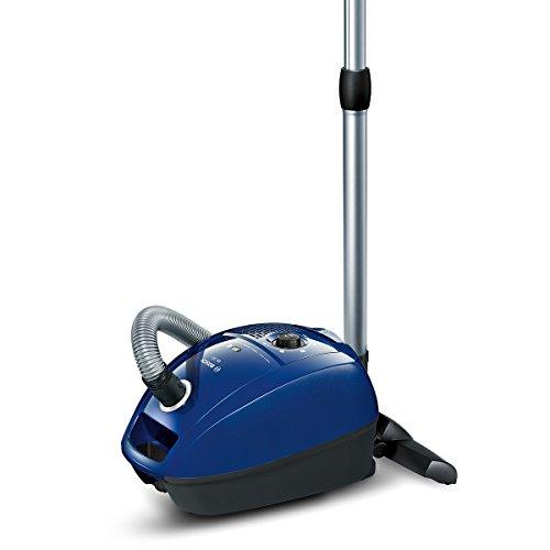 Bosch BGL3B110 Bodenstaubsauger GL-30 (mit Beutel, gründliche Reinigungsleistung, PowerProtect System) nordkapblau/metallic